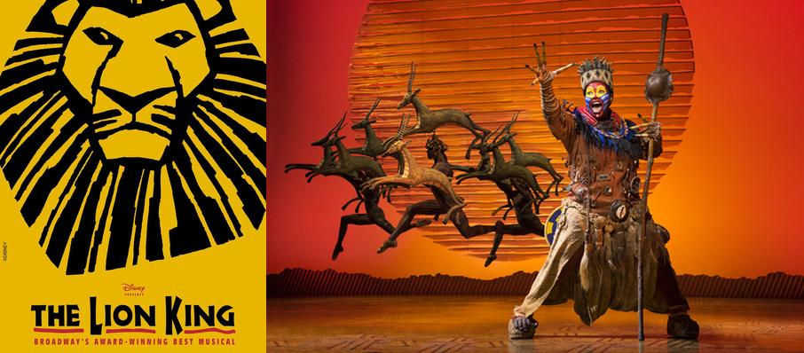 The Lion King at Century II Concert Hall