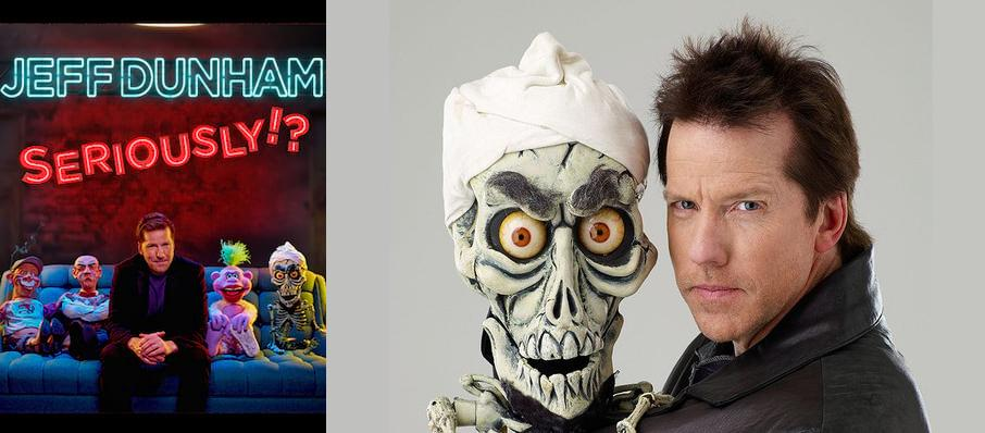 Jeff Dunham at INTRUST Bank Arena