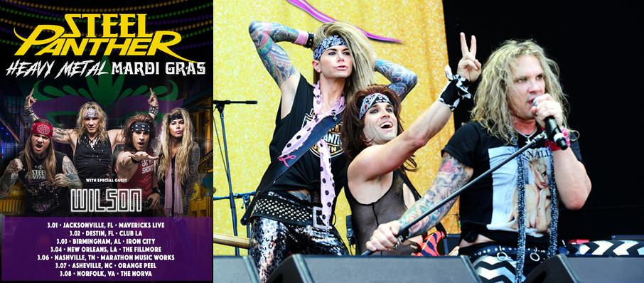 Steel Panther at The Cotillion