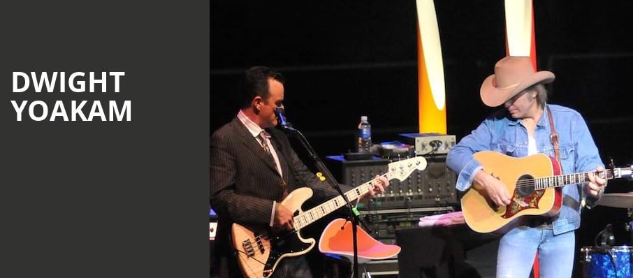 Dwight Yoakam, The Cotillion, Wichita