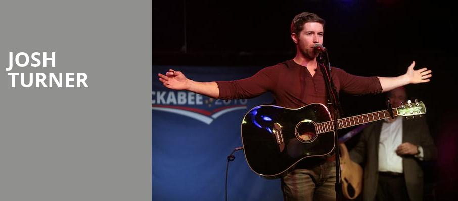 Josh Turner, The Cotillion, Wichita