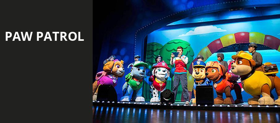 Paw Patrol, INTRUST Bank Arena, Wichita