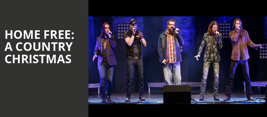 Home Free A Country Christmas, Orpheum Theatre, Wichita
