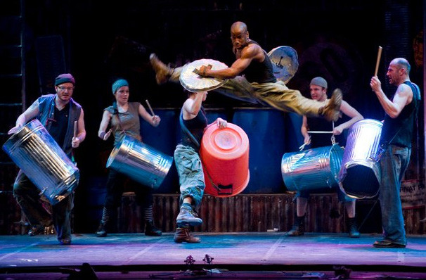 Stomp, Century II Concert Hall, Wichita