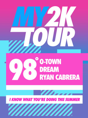 My2K Tour 98 Degrees O Town Ryan Cabrera Dream, Hartman Arena, Wichita